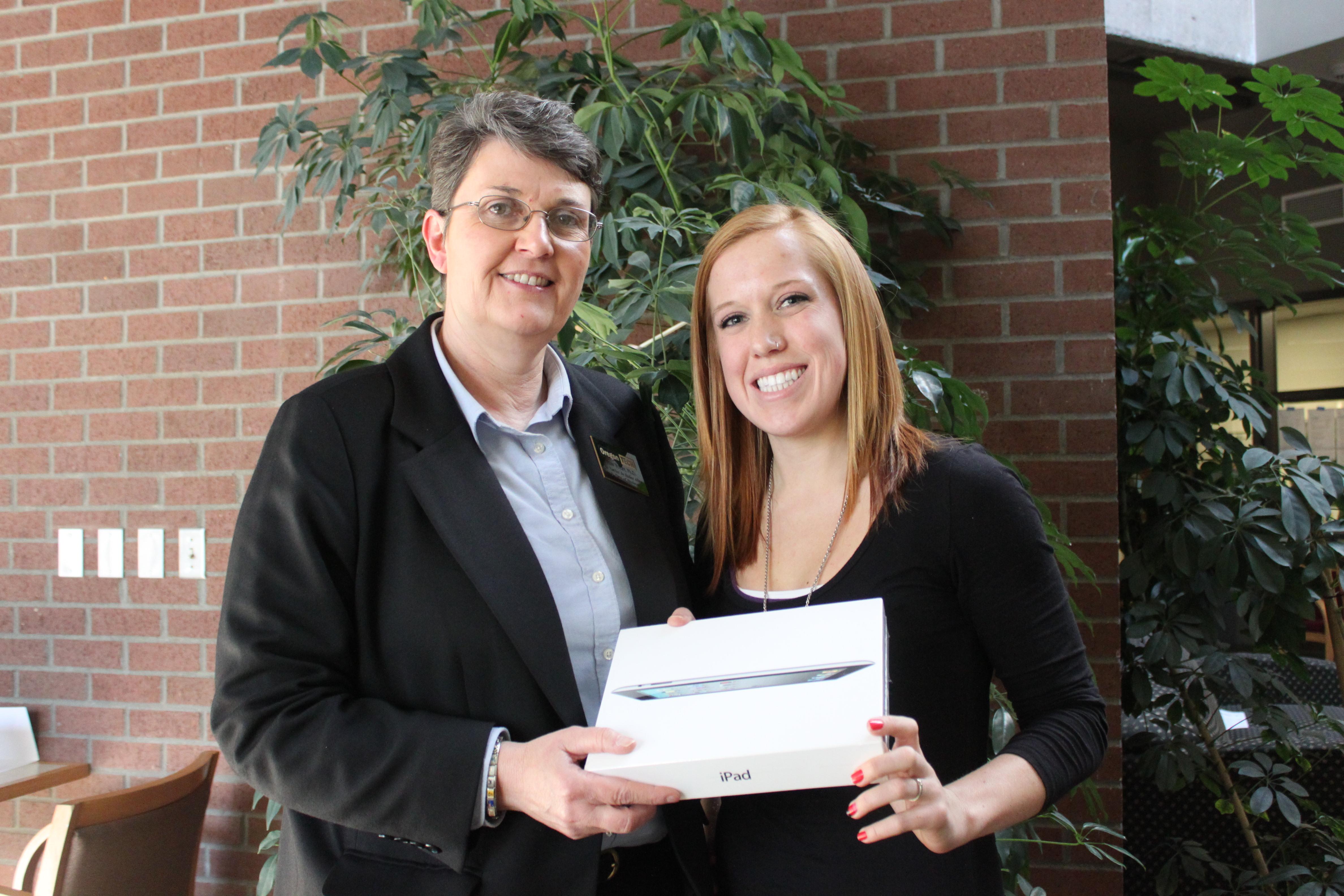 iPad Winner Brandi King