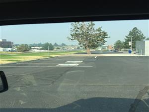 (2017-2018) Blue Zones Parking Spot Lot A