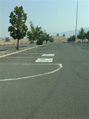 (2017-2018) Blue Zones Parking Spot Lot E