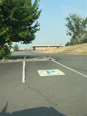 (2017-2018) Blue Zones Parking Spot Lot H