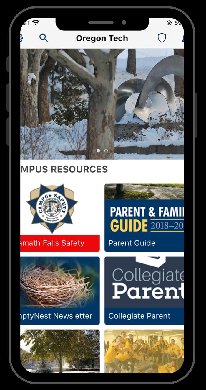 App Screen shots- parents