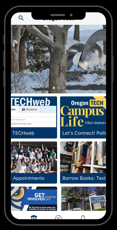 App Screen shots- student