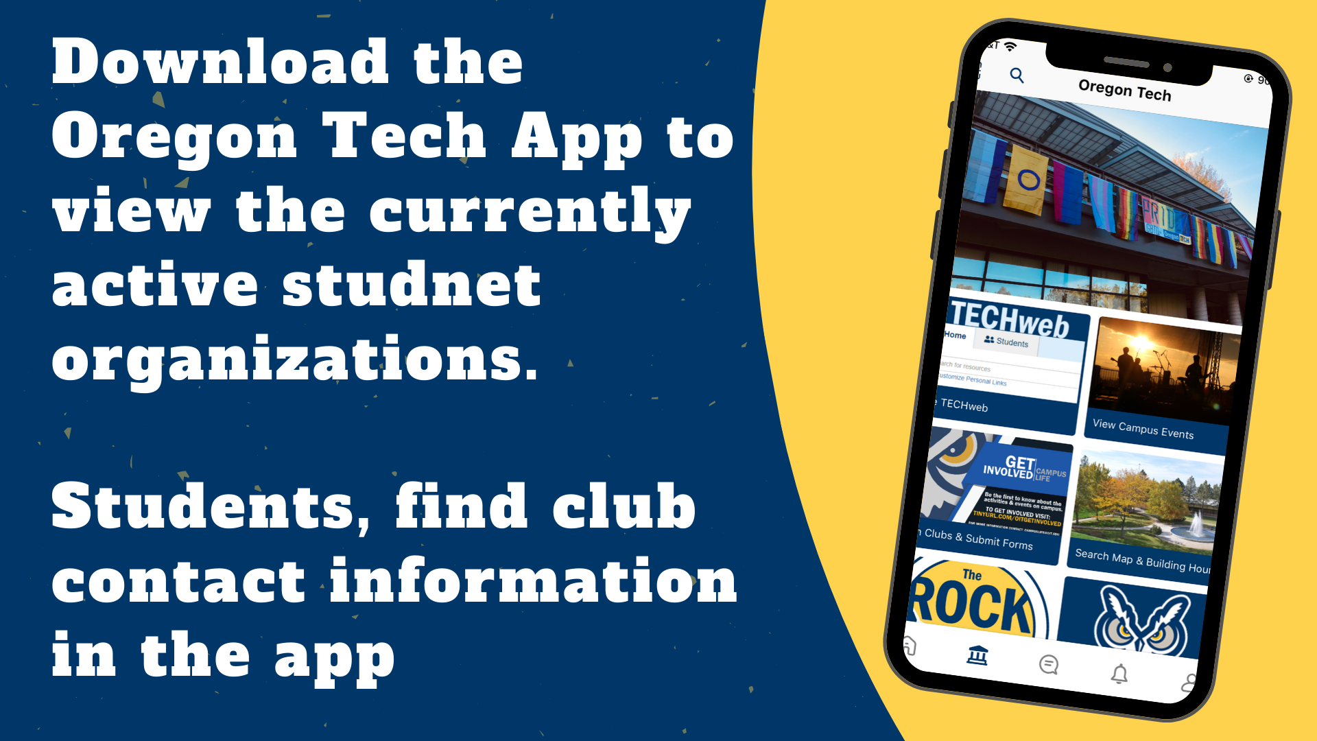 App- clubs and orgs