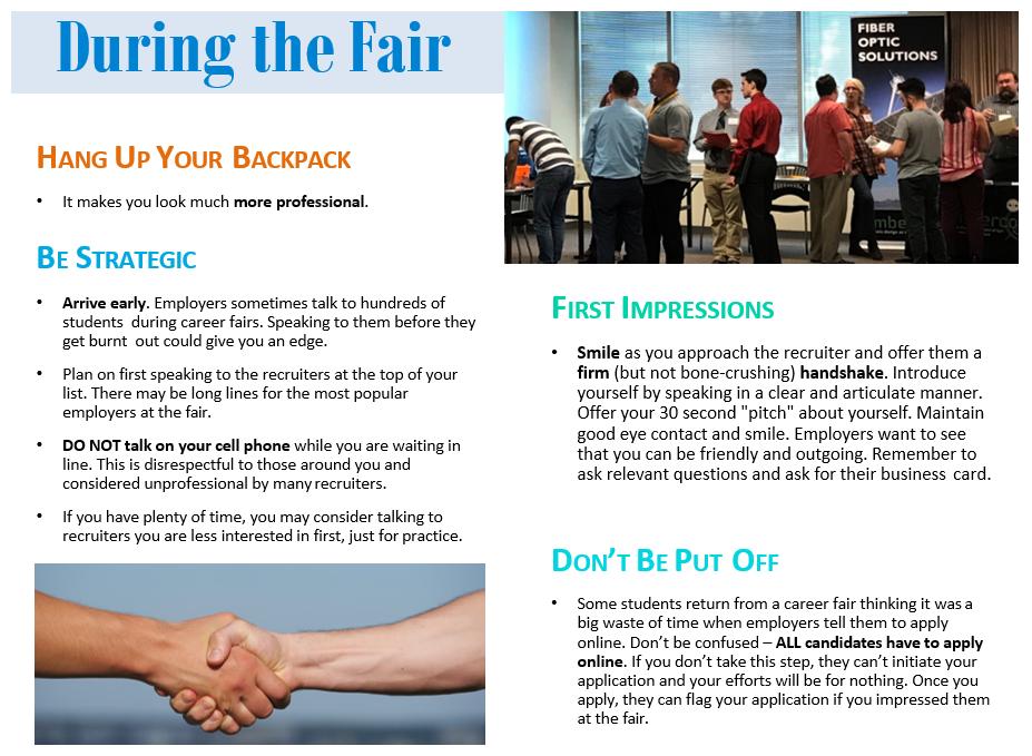 job fair questions employers ask