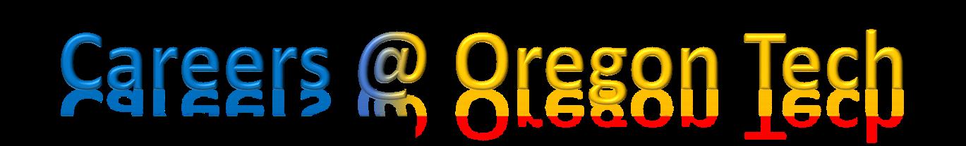 Careers @ Oregon Tech 1