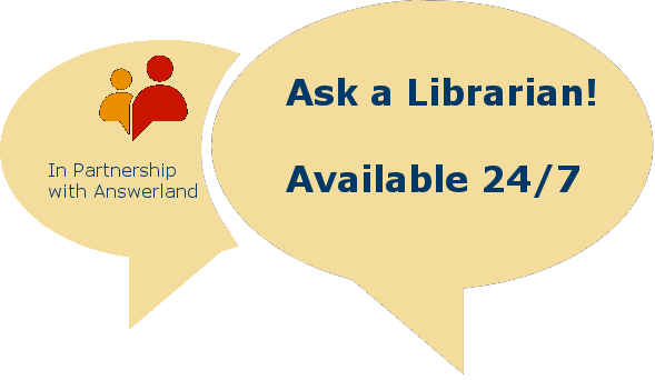 Ask a Librarian -- Availabel 24/7 link