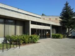 Photo of the exterior of the Learning Resource Center
