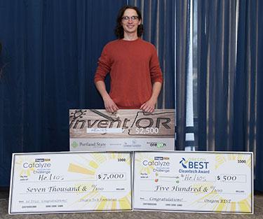 Mathias Dean Winner of Catalyze 2017