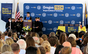Oregon Techs Portland Campus Confers 216 Degrees During 32nd Annual Commencement Ceremony