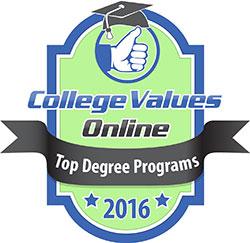 College Values Online Top Degree Programs