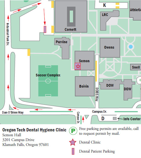 KF Dental Clinic Parking Map