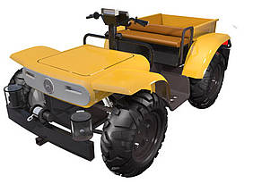 Smart EV Agricultural Vehicle