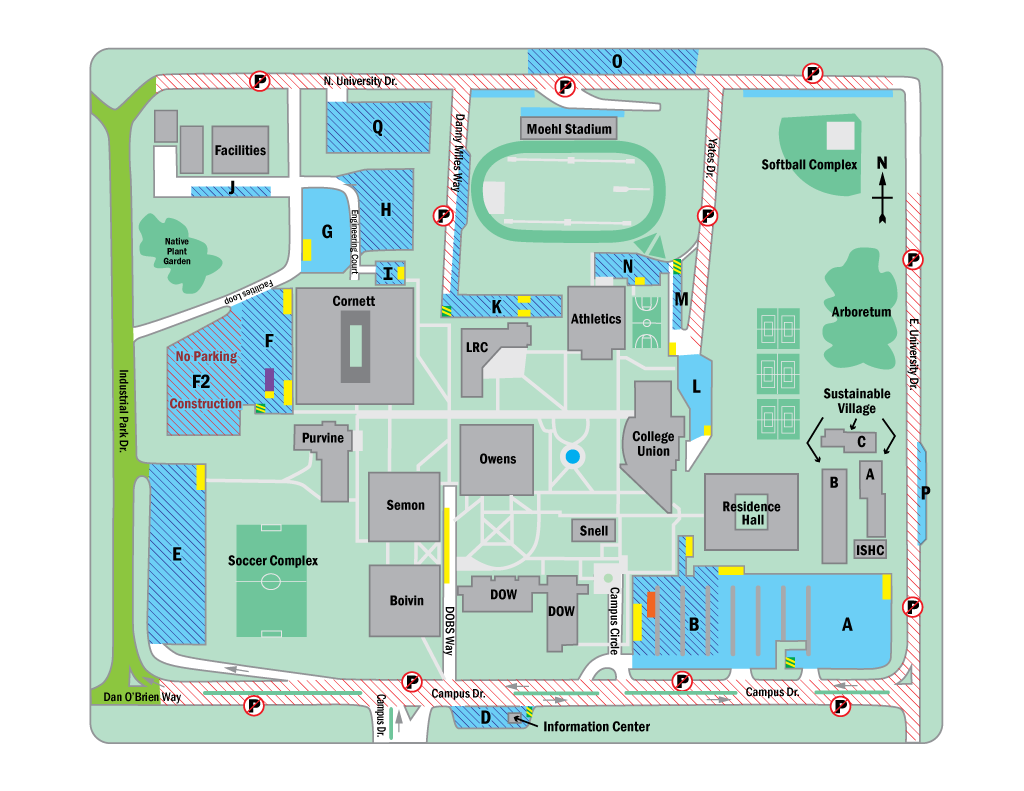 Union College Campus Map Campus Map