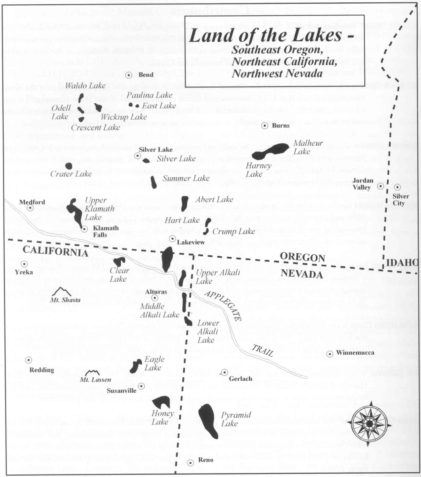 Land of the Lakes area