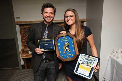 Most Dedicated Student Award - Lindsey McDonald