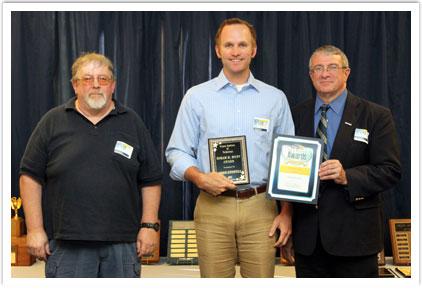 Hiram M. Hunt Award - Adam Burwell