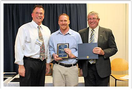 Hiram M. Hunt Award - Jacob Wampler