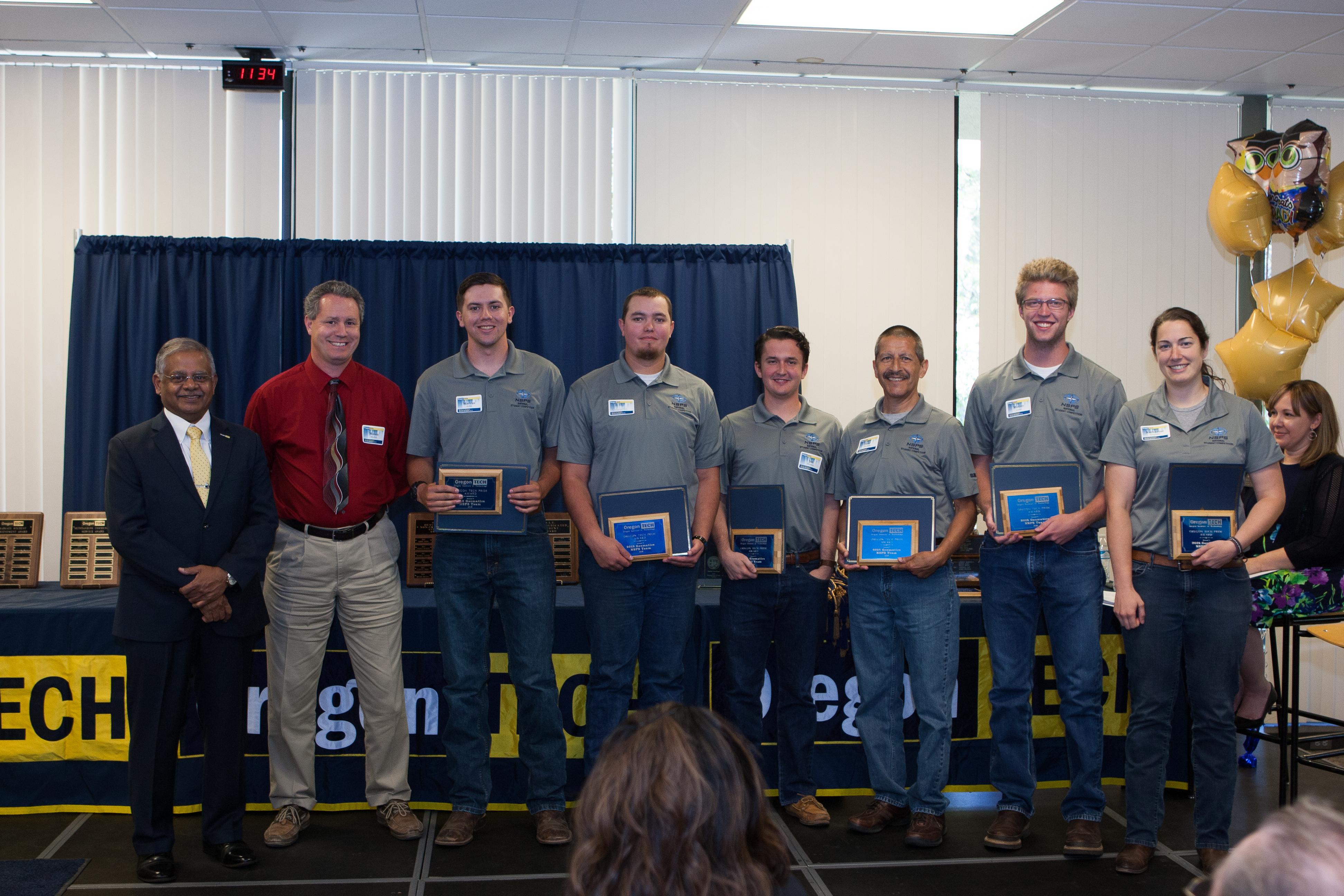 Oregon Tech Pride: 2018 Geomatics NSPS Team