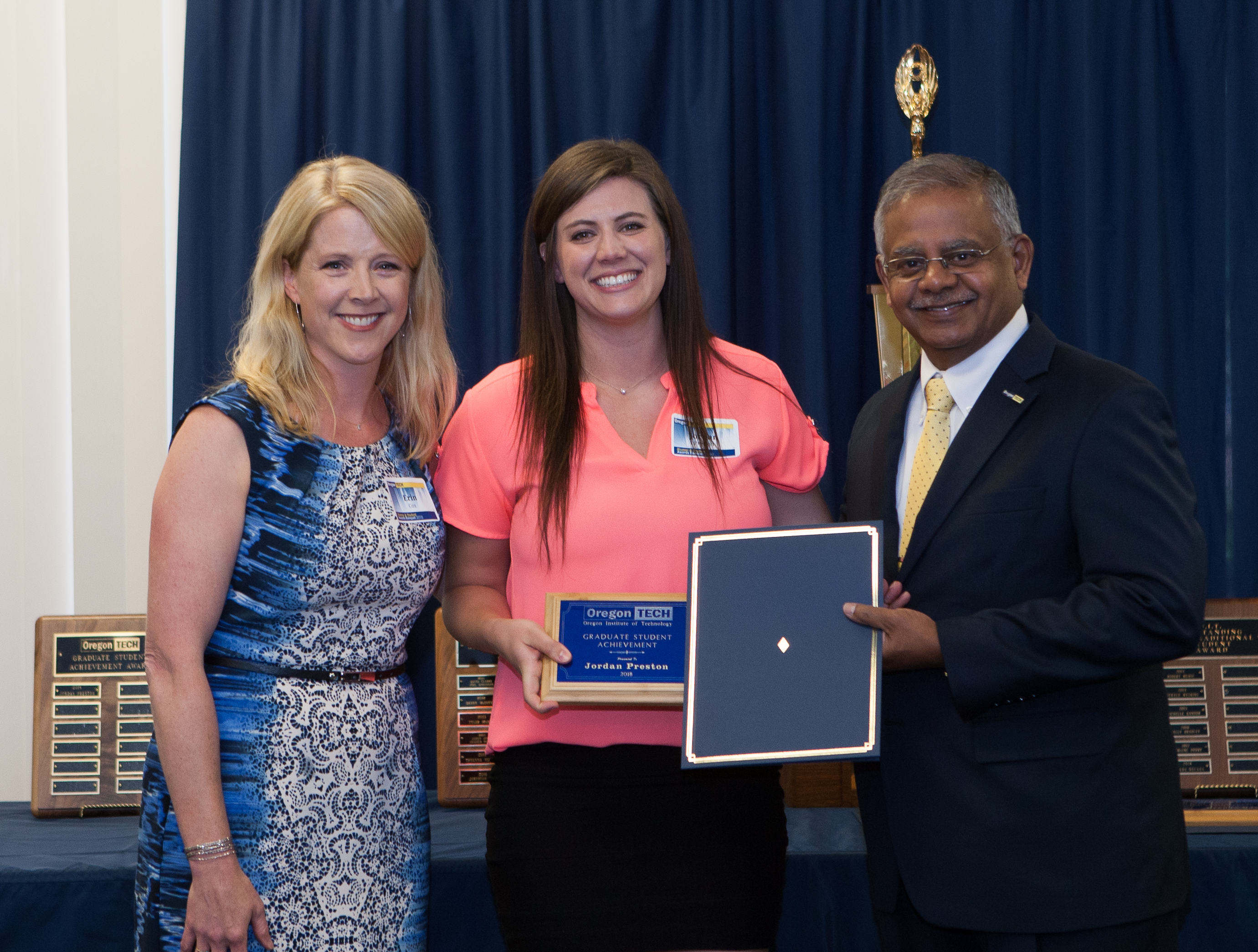 Outstanding Graduate Student: Jordan Preston