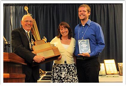 Owens Citizenship Award - Jordan Hunter
