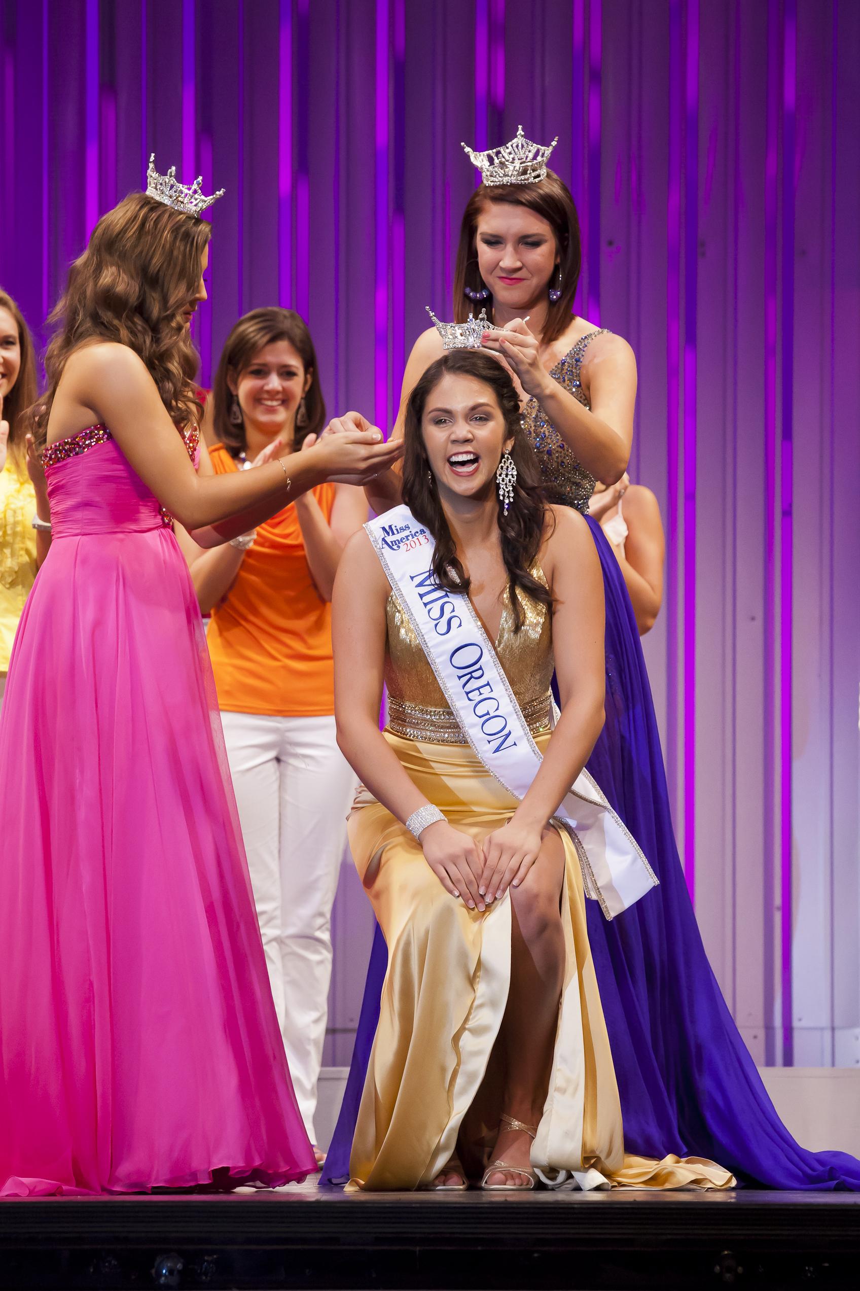 Miss Oregon, Allison Cook