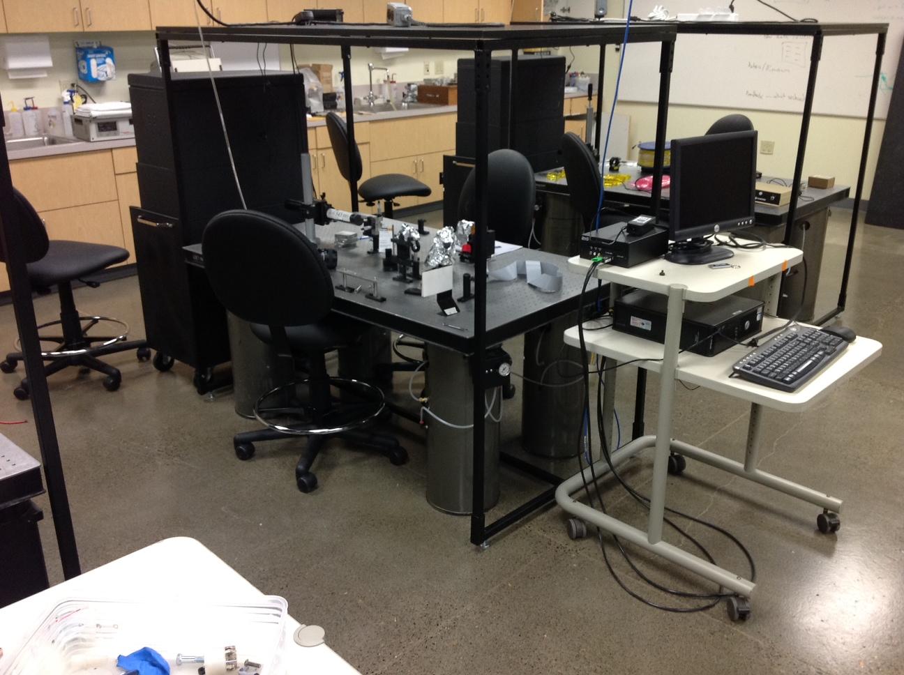 Optics Lab Work Stations